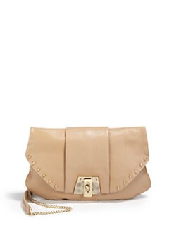Be & D - Convertible Leather Flap Bag