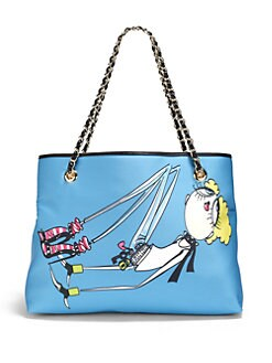 Love Moschino - Charming Shoulder Bag/Sky Blue