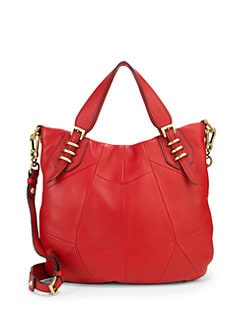orYANY - Convertible Leather Satchel