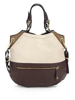 orYANY - Colorblock Convertible Shoulder Bag