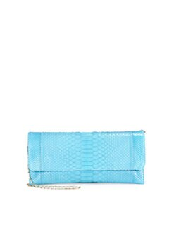 Carlos Falchi - Python Standard Flat Clutch