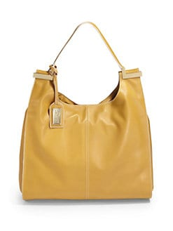 Badgley Mischka - Natasha Nappa Satchel/Yellow