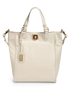 Badgley Mischka - Lisse Nappa Tote/Cream