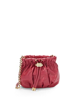 Badgley Mischka - Little Melanie Ruched Shoulder Bag