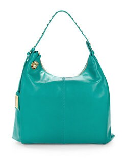 Badgley Mischka - Tracy Studded Leather Hobo
