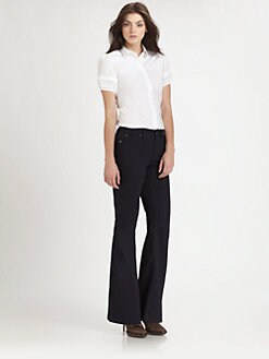 Burberry London - Puffed Sleeve Blouse