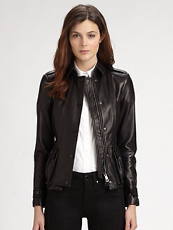 Burberry London - Leather Jacket