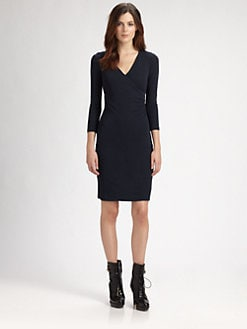 Burberry London - Crepe Wrap Dress