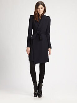 Burberry London - Blanket Coat