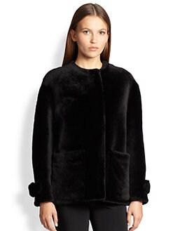 Burberry London - Isden Short Shearling Jacket