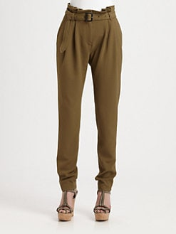 Burberry London - Paper-Bag Waist Pants