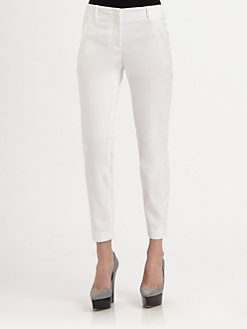 Burberry London - Stretch Cotton Twill Pants