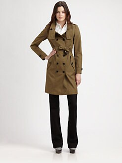 Burberry London - Funnel Collar Trench
