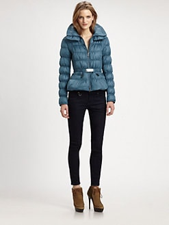 Burberry London - Belted Down Jacket