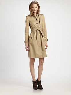 Burberry London - Cotton Gabardine Trench