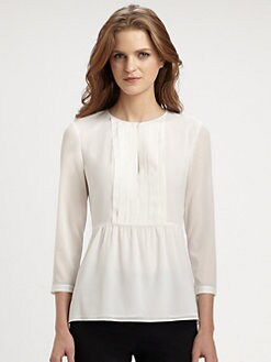 Burberry London - Stretch Silk Crepe Blouse