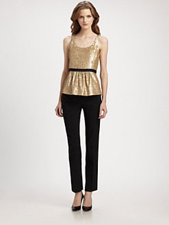 Burberry London - Sequined Tank