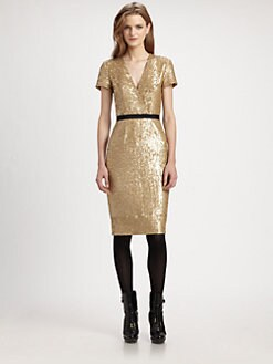 Burberry London - Sequined Dress