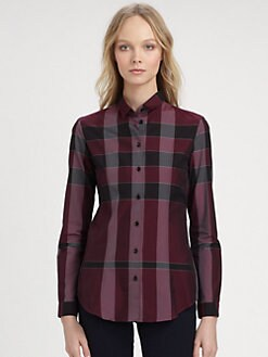 Burberry London - Yarn Dyed Checked Shirt