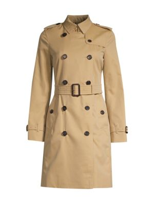Kensington Long Heritage Trench Coat plus size,  plus size fashion plus size appare