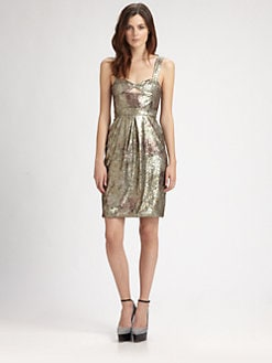 Burberry Prorsum - Sequined Bustier Dress