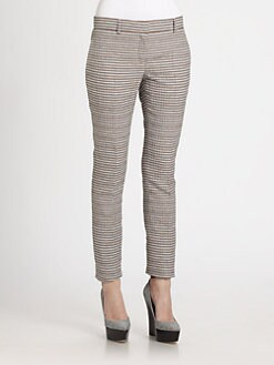 Burberry Prorsum - Seersucker Pencil Pants
