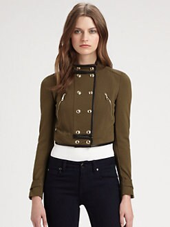 Burberry London - Alderford Cropped Ottoman Jacket