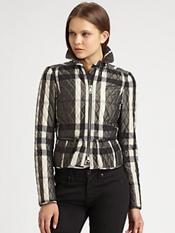 Burberry London - Barcroft Quilted Jacket