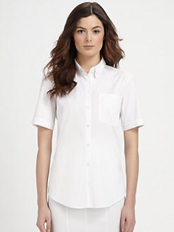 Burberry London - Short-Sleeve Blouse