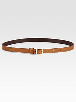 Burberry London - Grainy Leather Belt