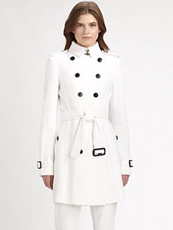 Burberry London - Mesh Trench