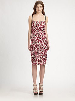 Burberry London - Printed Silk Dress