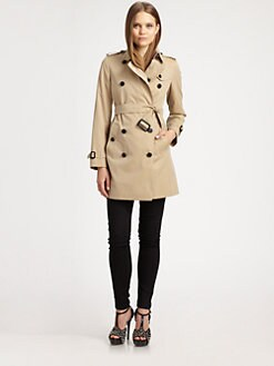 Burberry London - Buckingham Cotton Trenchcoat