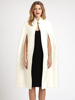 Burberry Prorsum - Cotton/Silk Cape