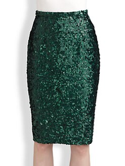 Burberry Prorsum - Sequined Skirt