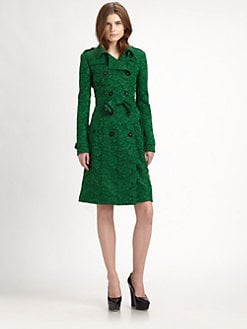Burberry Prorsum - Lace Trenchcoat