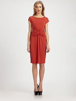 Burberry London - Twist-Front Dress