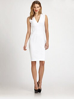 Burberry London - V-Neck Dress