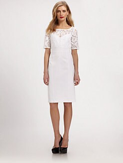 Burberry London - Lace Bodice Dress