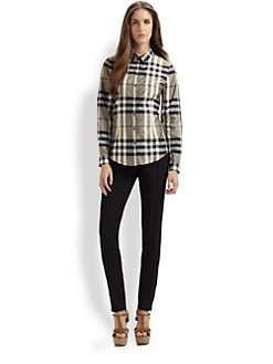 Burberry London - Checked Shirt