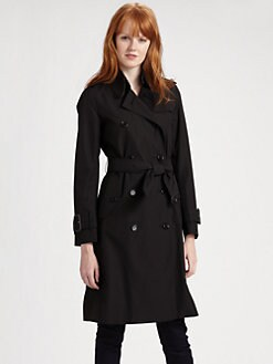 Burberry London - Manston Double Breasted Long Trenchcoat
