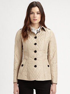 Burberry London - Technical Taffeta Quilted Jacket