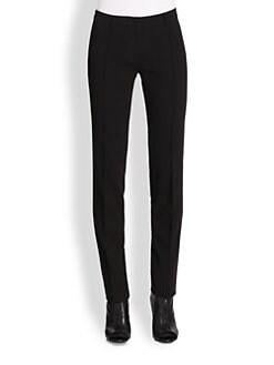 Burberry London - Mid-Rise Cigarette Trousers