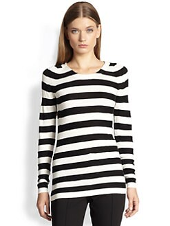 Burberry London - Striped Knit Top