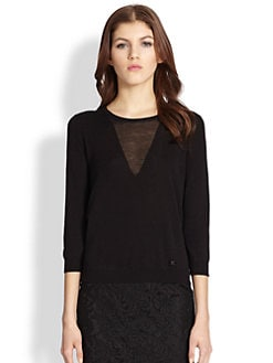 Burberry London - Knit Illusion Top
