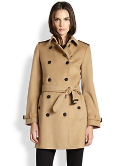 Burberry London - Buckingham Cashmere-Blend Trench