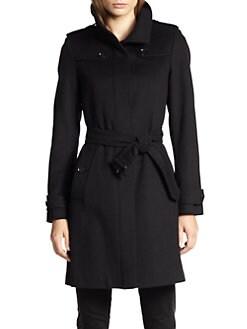 Burberry London - Basingstoke Wool & Cashmere Coat