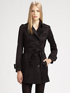 Burberry London - Westland Sateen Trench