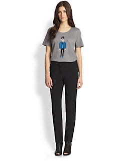 Burberry Prorsum - Police Officer-Print Cotton Jersey Tee