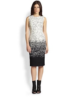 Burberry Prorsum - Ombré Speckled Wool Dress